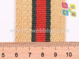 Alta calidad que tuerce las correas de nylon del color para la correa del bolso