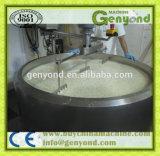 Edelstahl-Käse, der Maschinerie aufbereitet