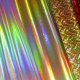 Алюминиевая фольга голографической бумаги горячей штамповки пленки для упаковки