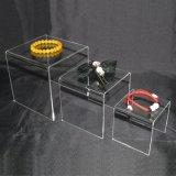 Support en acrylique claire Set de 3 (3 pouces, 4 pouces, 5 pouces) Support d'affichage