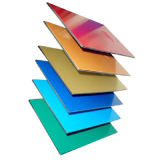 Het Samengestelde Comité van uitstekende kwaliteit van het Aluminium nano-PVDF (alb-048)