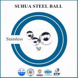 esfera de metal redonda inoxidável da esfera de aço de 100mm grande