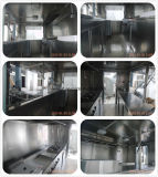Caminhões móveis do alimento da cozinha do carro do alimento para a venda em China