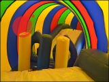 Игрушка полосы препятствий раздувного тоннеля гусеницы взаимодействующая (T5-210)