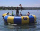 Jogo inflável de água jogando trampolim inflável (HD-008)