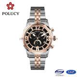 OEMの高品質のステンレス鋼の人の腕時計
