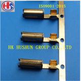 6.3mm 금관 악기 주름 끝 케이블 여성 삽 연결관 (HS-FT-001)