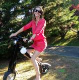 Bon scooter électrique en aluminium de batterie au lithium des prix 350W de bonne qualité