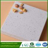 Préfabriqué Comptoir de cuisine en pierre de quartz blanc