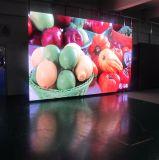 Publicidad de la visualización de LED de interior del alquiler de la etapa P3.125, P3.91, P4.81