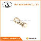 Crochet en alliage de zinc de rupture de crochet de lanière de crochet d'or léger petit mini pour le sac