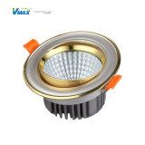 LED de aluminio de 12W Lámpara de techo Venta caliente con gran eficiencia.