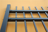 2.1m X2.4m Spear Top Security Steel Fence / Steel Fencing