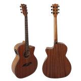 Высококачественный корпус из красного дерева фанеры Electrcial Акустическая гитара