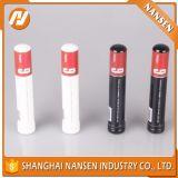 Un tubo tamaño pequeño de aluminio más barato con la impresión colorida