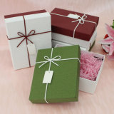Rectángulo de empaquetado del pequeño del cumpleaños de la boda regalo de papel único de la Navidad