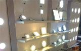 iluminações de painel redondas magros super do diodo emissor de luz de 18W Dimmable