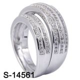Juwelen 925 van de manier de Zilveren Levering voor doorverkoop van de Ring van het Paar