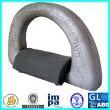 Geselende D-vormige ring voor het Beveiligen