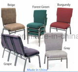 Bastidor de metal mayorista sillas usadas para la Iglesia