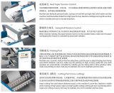 Kursteilnehmer Flexo Drucken und Sattel-nähendes Übungs-Buch, das Maschine herstellt
