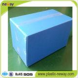 Envase de plástico acanalado plegable