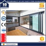 Qualitäts-Aluminiumrahmen-schiebende stapelnde Hochleistungstüren
