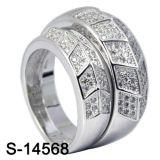 Juwelen 925 van de manier de Zilveren Ring van het Paar