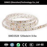Altas tiras flexibles del brillo SMD3528 CRI95 120LEDs los 9.6W/M LED