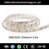 Alte strisce flessibili di luminosità SMD3528 CRI95 120LEDs 9.6W/M LED