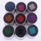 5mm Magic Puzzle bola magnética 216PCS Esfera con una caja de imanes de neodimio