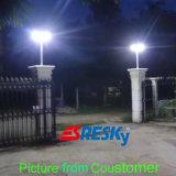 Luz ao ar livre do diodo emissor de luz da rua do poder superior para a luz de rua solar do jardim da estrada