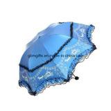 설명서 니스 우산을 배관하는 열려있는 가까운 주문 인쇄 검정 레이스