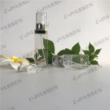 15/30ml de PETG transparente de plástico vazio de vaso de loção para embalagem de cosméticos (PPC-PGAB-002)