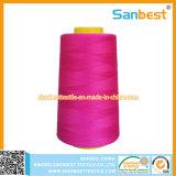 De kleurrijke Gesponnen het Naaien van de Polyester Verdraaide Kwaliteit van de Draad Tfo