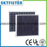 Filtro de fibra de carbón activado