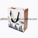 Regalo del papel de arte de la cantidad de la fábrica de China el alto empaqueta al por mayor