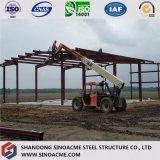 Construction en acier de bâti portique pour l'entrepôt avec le riche expérience