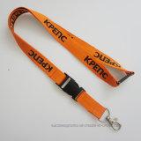 Polyester personnalisé promotionnel Longes avec boucle de ceinture de sécurité
