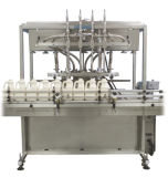 Машина для прикрепления этикеток машины завалки поршеня полноавтоматической бутылки жидкостная линейная