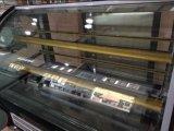 Handelskuchen-Schaukasten mit gebogenem Glas (G760A-W)