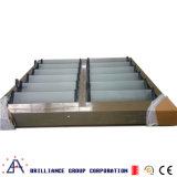 Feritoia di vetro di alluminio con buona ventilazione