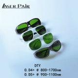 Sport-Art 980nm, 1064nm, 1320nm, medizinische 1470nm Lasersicherheits-Schutzbrille-Laser-Augenschutz-Schutzbrillen für Dioden, Nd: YAG
