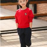 O logotipo personalizado túnica uniforme escolar suéter e calças