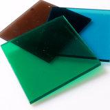 青銅0.8-15mmの厚さの温室のための固体ポリカーボネートシート