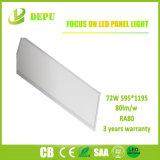 595*1195 LED Instrumententafel-Leuchte 72W, 80lm/W mit TUV, Cer