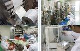 3-kanten de Verzegelde Zak van de Aluminiumfolie zonder Druk