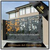 レーザーの切口のアルミニウム庭のメインゲートデザイン