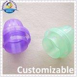 Tampões plásticos do emoliente/tampões de parafuso frasco da lavanderia para a promoção