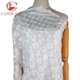 Tessuto bianco del merletto della tessile di cotone di nuovo disegno di modo